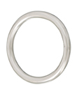 round ring, welded and polished, 13mm, 100mm